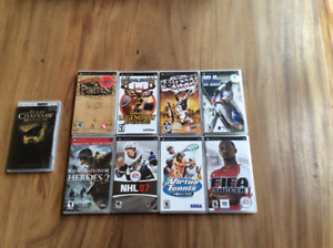 Sony PSP Game Lot