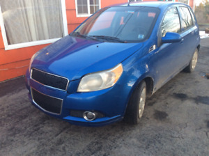 2009 Chevy Aveo hatchback