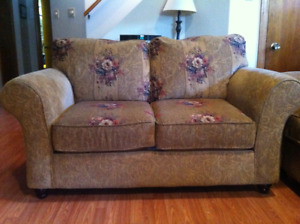 Love seat and Couch     Very comfortable