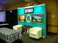 Trade Show display / background.