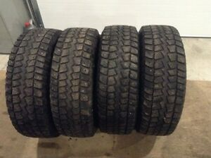LT245/70R17 Trail Cutter 10 Ply Studded Snow Tires