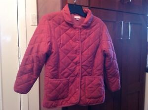 Girls Size 8 Spring or Fall Quilted Jacket. $10.00