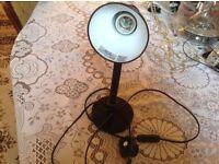 Table lamp black colour for sale £4