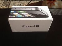 Apple iPhone 4s only box 8gb black £4