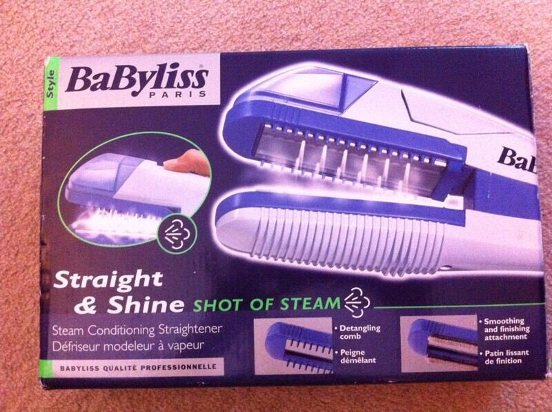 Babyliss straight and shine straighters