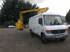 MERCEDES BENZ VARIO 814 COMPLETE WITH HOIST 1 COUNCIL OWNER 2003
