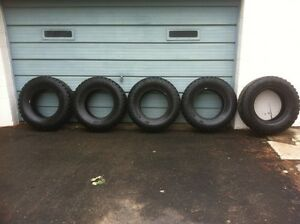 5 Near New 35x12.50 r18 Load Range E Pro Comp Xtreme AT Tires
