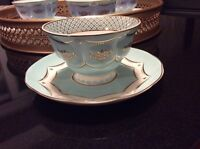 China teacups and saucers for rent for high tea