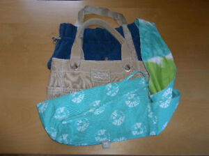 BRAND NAME COTTON SHOULDER BAGS (Excellent Condition!)