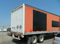 48 foot  Fruehauf semi trailer dry van