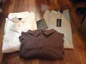 3 Men's XL short sleeve shirts