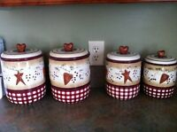 Country Style Canister Set