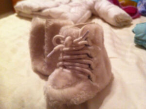 Baby Gap furry boots