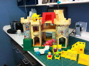 Original Fisher Price Castle