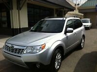 2011 Subaru Forester 2.5l Touring low km's Extended Warrenty