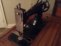 Esontia Treddle Sewing Machine - free delivery