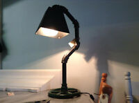 One of a kind handmade lamps