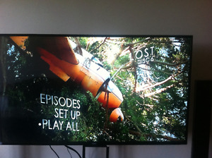 """LOWERED**** 55"""" TV GREAT CONDITION 1080P THIN FRAME"""