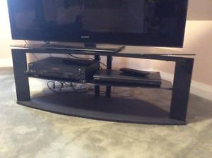 Meuble en coin pour TV plus DVD Sony