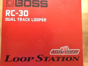 Brand new RC-30 Boss dual track looper