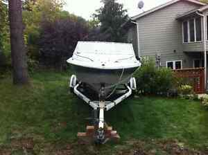 Ezy loader Boat trailer for Sale comes with 17.5 ft Larson Kawartha Lakes Peterborough Area image 10