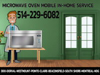 Express service for microwave ovens
