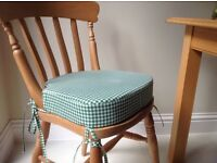 PAIR OF NEW BOOSTER SEAT CUSHIONS