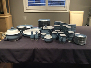 Denby Castille dinnerware and serving pieces