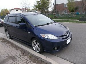 2007 Mazda Mazda5 GT Minivan, with Safety and Emission