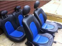 Ford ka leather seats