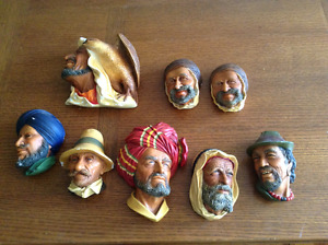 Bosson Plaster Heads