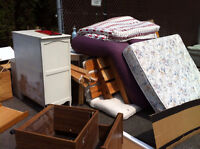 Old clutter, rubbish & junk removal & waste disposal.