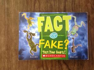 Fact or fake kids book