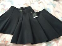 Two new school skirts