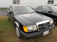 1989 Mercedes Benz Never Winter Driven
