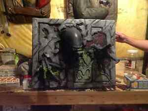 3D poster / wall busters  -horror icon figures Kitchener / Waterloo Kitchener Area image 3