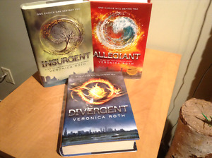 The Divergent trilogy by Veronica Roth - Hardcover