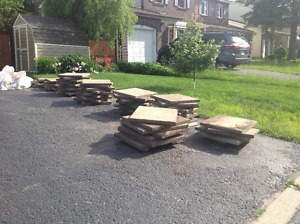 stone pavers 24 x 24 and 24 x 30