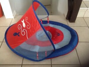 Baby float with sun canopy by Swimways