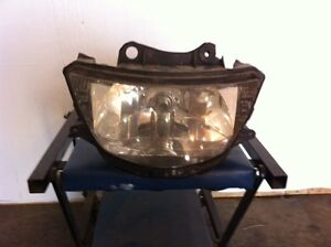 1999 ZX6R headlight