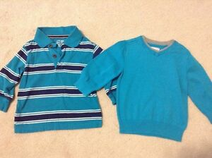 EUC long sleeve shirt and sweater-18-24months- TCP
