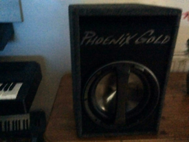 One Phonix Gold Subwoofer for sale