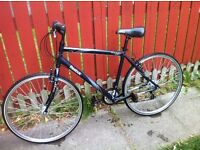 700c Alloy Frame Town Bike GOOD WORKING ORDER (Woolwich Arsenal DLR)