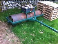 Roller 6 FT wide with basket for stones or weights