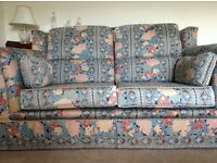 A Two and Three Seater Sofa, Derwent, Excellent Condition, Patterned, GL54 4DD