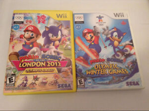 Mario & Sonic Olympic & Winter games Wii