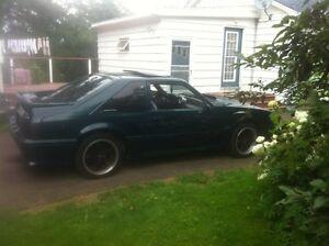 87 Mustang GT