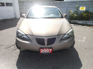 2007 Pontiac Grand Prix Sedan-Only 99,900 km