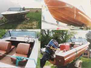 Princecraft boat,trailer & 115 hp motor