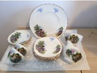 Royal Staffordshire tea set
